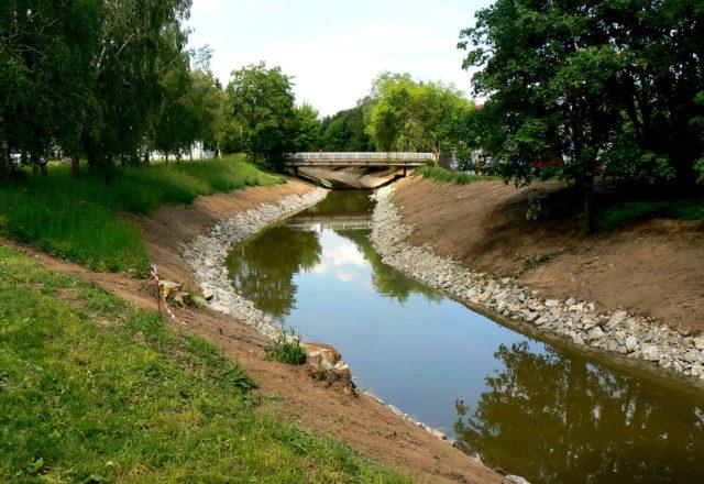 2009 – Svitava – Blansko – úprava koryta km 33,520 – 35,895