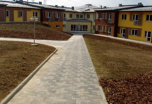 2010 – Novostavba domova pro seniory Bystré – komunikace