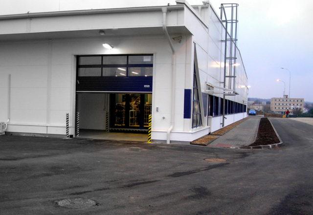 2014 – Půjčovna a prádelna oděvů firmy Berendsen – II. etapa