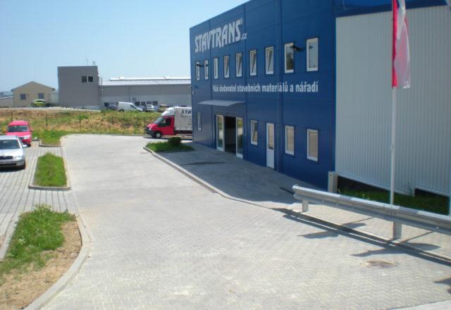 2012 – Výstavba areálu STAVTRANS, Moravany