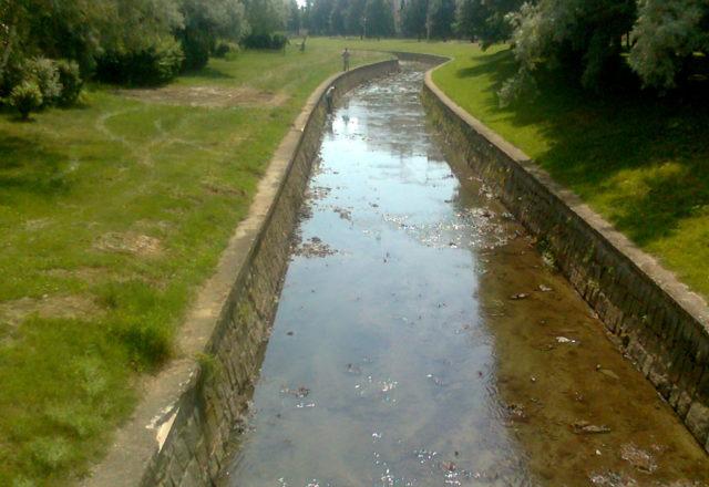 2012 – Řeka Mírovka, Mohelnice – těžba nánosů, zkapacitnění toku